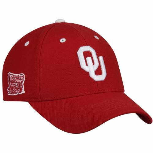 TOP OF THE WORLD バッグ キャップ 帽子 メンズキャップ メンズ 【 Oklahoma Sooners Triple Threat Adjustable Hat - Crimson 】 Crimson
