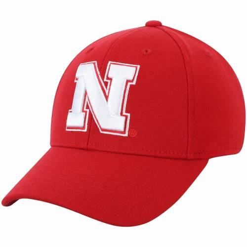 アディダス ADIDAS バッグ キャップ 帽子 メンズキャップ メンズ 【 Nebraska Cornhuskers Basic Flex Hat - Scarlet 】 Scarlet