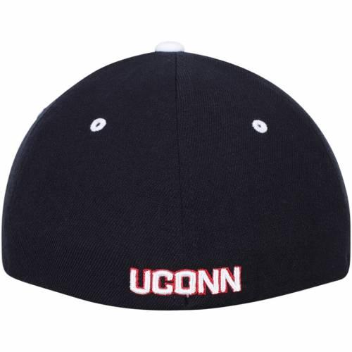 ZEPHYR コネチカット 紺 ネイビー バッグ キャップ 帽子 メンズキャップ メンズ 【 Uconn Huskies Zh Flex Hat - Navy 】 Navy