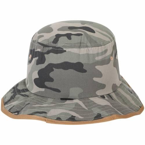 ZEPHYR コネチカット バッグ キャップ 帽子 メンズキャップ メンズ 【 Uconn Huskies Machete Bucket Hat - Camo 】 Camo