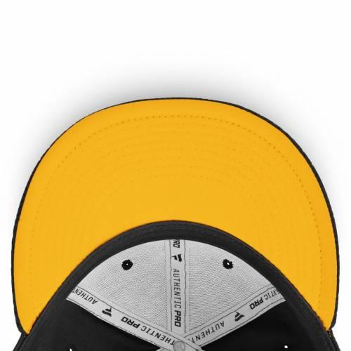 FANATICS BRANDED ピッツバーグ オーセンティック プロ 黒 ブラック バッグ キャップ 帽子 メンズキャップ メンズ 【 Pittsburgh Penguins Authentic Pro Rinkside Fitted Hat - Black 】 Black