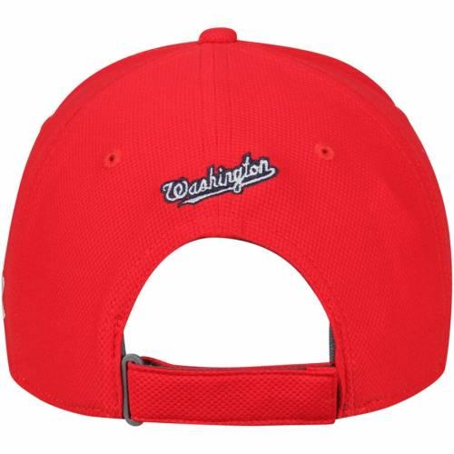 アンダーアーマー UNDER ARMOUR ワシントン ナショナルズ パフォーマンス 赤 レッド バッグ キャップ 帽子 メンズキャップ メンズ 【 Washington Nationals Blitzing Performance Adjustable Hat - Red 】 Red