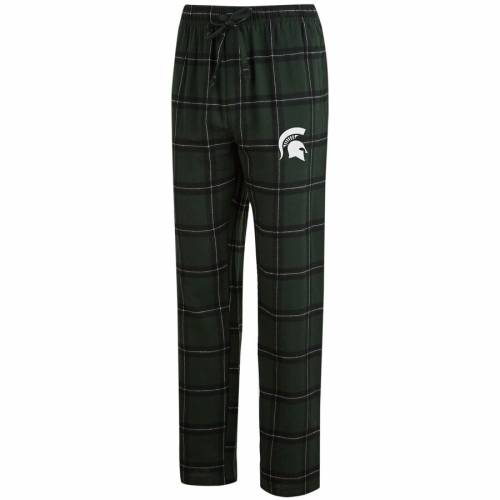 CONCEPTS SPORT ミシガン スケートボード 緑 グリーン 黒 ブラック & 【 STATE GREEN BLACK CONCEPTS SPORT MICHIGAN SPARTANS BIG TALL HOMESTRETCH FLANNEL PANTS 】 インナー 下着 ナイトウエア メンズ ナイト ル