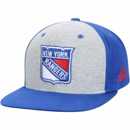 アディダス ADIDAS レンジャーズ スナップバック バッグ 灰色 グレー グレイ キャップ 帽子 メンズキャップ メンズ 【 New York Rangers Contrast Front Snapback Adjustable Hat - Gray 】 Gray