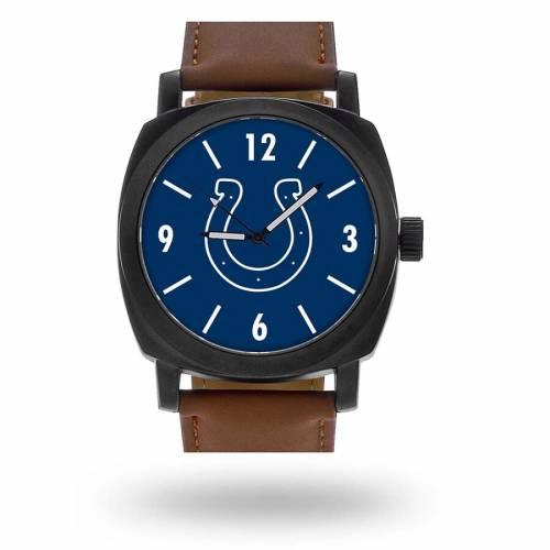 SPARO インディアナポリス コルツ ストラップ ウォッチ 時計 茶 ブラウン [CUSTOMIZED ITEM] 【 WATCH BROWN SPARO INDIANAPOLIS COLTS PERSONALIZED STRAP 】 腕時計 メンズ腕時計