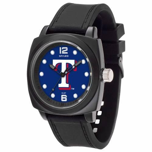 SPARO テキサス レンジャーズ ウォッチ 時計 黒 ブラック 腕時計 メンズ腕時計 ユニセックス 【 Texas Rangers Prompt Watch - Black 】 Black