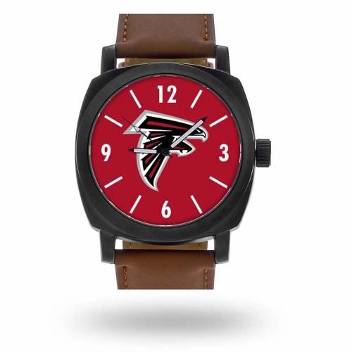 SPARO アトランタ ファルコンズ ストラップ ウォッチ 時計 茶 ブラウン [CUSTOMIZED ITEM] 【 WATCH BROWN SPARO ATLANTA FALCONS PERSONALIZED STRAP 】 腕時計 メンズ腕時計