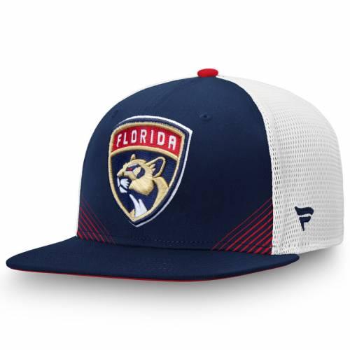 FANATICS BRANDED フロリダ パンサーズ スプリング スナップバック バッグ キャップ 帽子 メンズキャップ メンズ 【 Florida Panthers Iconic Spring Emblem Adjustable Snapback Hat - Navy/white 】 Navy/white