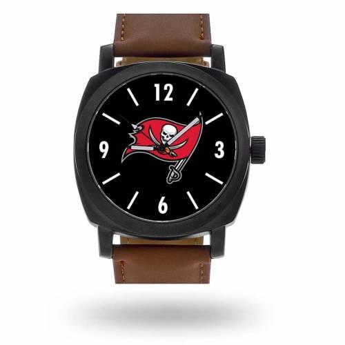 SPARO バッカニアーズ ストラップ ウォッチ 時計 茶 ブラウン [CUSTOMIZED ITEM] 【 WATCH BROWN SPARO TAMPA BAY BUCCANEERS PERSONALIZED STRAP 】 腕時計 メンズ腕時計