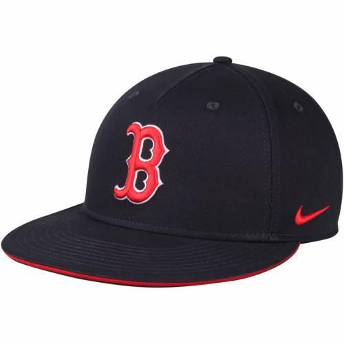 ナイキ NIKE ボストン 赤 レッド スナップバック バッグ 紺 ネイビー キャップ 帽子 メンズキャップ メンズ 【 Boston Red Sox True New Day Adjustable Snapback Hat - Navy 】 Navy