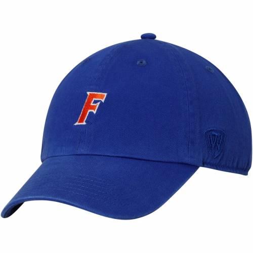 TOP OF THE WORLD フロリダ ポール バッグ キャップ 帽子 メンズキャップ メンズ 【 Florida Gators Ncaa Paul Adjustable Dad Hat - Royal 】 Royal