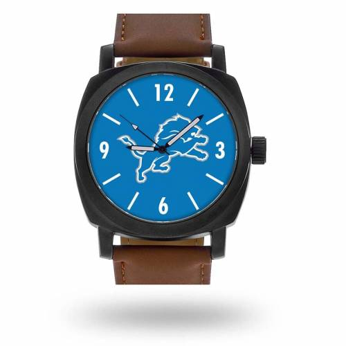 SPARO デトロイト ライオンズ ストラップ ウォッチ 時計 茶 ブラウン [CUSTOMIZED ITEM] 【 WATCH BROWN SPARO DETROIT LIONS PERSONALIZED STRAP 】 腕時計 メンズ腕時計