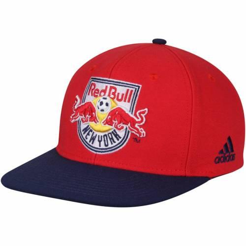 アディダス ADIDAS 赤 レッド ブルズ スナップバック バッグ キャップ 帽子 メンズキャップ メンズ 【 New York Red Bulls Two-tone Adjustable Snapback Hat - Red/navy 】 Red/navy