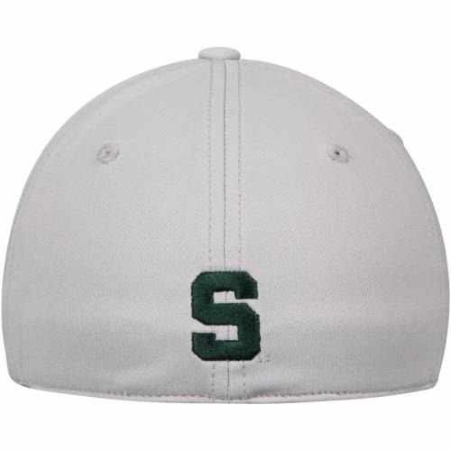 TOP OF THE WORLD ミシガン スケートボード 灰色 グレー グレイ バッグ キャップ 帽子 メンズキャップ メンズ 【 Michigan State Spartans Lightrail 1fit Flex Hat - Gray 】 Gray