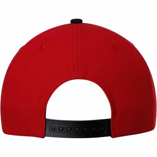アディダス ADIDAS アトランタ スナップバック バッグ キャップ 帽子 メンズキャップ メンズ 【 Atlanta United Fc Two-tone Adjustable Snapback Hat - Red/black 】 Red/black