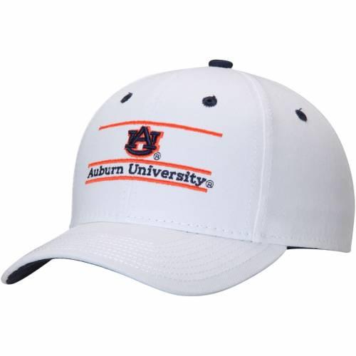THE GAME タイガース クラシック スナップバック バッグ 白 ホワイト キャップ 帽子 メンズキャップ メンズ 【 Auburn Tigers Classic Bar Adjustable Snapback Hat - White 】 White