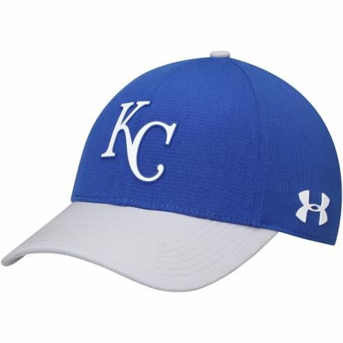 アンダーアーマー UNDER ARMOUR カンザス シティ ロイヤルズ キャップ 帽子 2.0 バッグ メンズキャップ メンズ 【 Kansas City Royals Mlb Driver Cap 2.0 Adjustable Hat - Royal/gray 】 Royal/gray