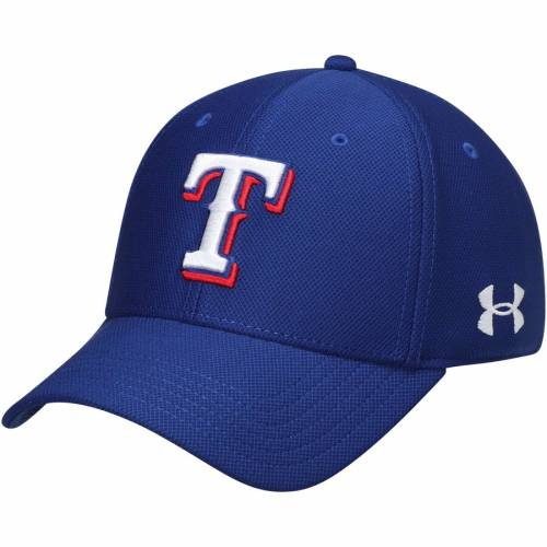 アンダーアーマー UNDER ARMOUR テキサス レンジャーズ パフォーマンス バッグ キャップ 帽子 メンズキャップ メンズ 【 Texas Rangers Blitzing Performance Adjustable Hat - Royal 】 Royal