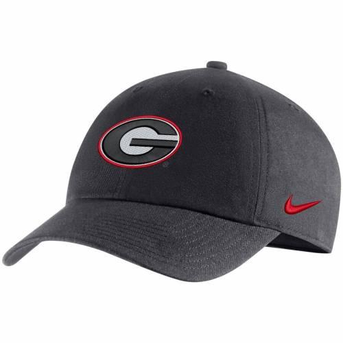 ナイキ NIKE ロゴ パフォーマンス 赤 レッド バッグ キャップ 帽子 メンズキャップ メンズ 【 Georgia Bulldogs Heritage 86 Logo Performance Adjustable Hat - Red 】 Anthracite
