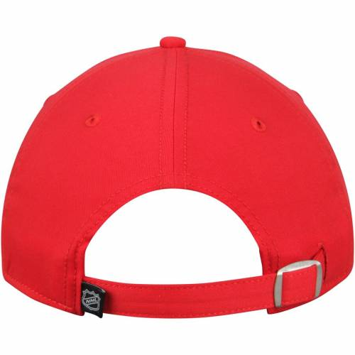 FANATICS BRANDED デトロイト 赤 レッド コア バッグ キャップ 帽子 メンズキャップ メンズ 【 Detroit Red Wings Elevated Core Structured Adjustable Hat - Red 】 Red