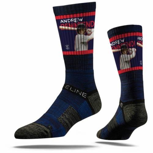 STRIDELINE ボストン 赤 レッド プレミアム ソックス 靴下 インナー 下着 ナイトウエア メンズ 下 レッグ 【 Andrew Benintendi Boston Red Sox Premium Player Crew Socks 】 Color