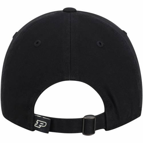 TOP OF THE WORLD 黒 ブラック バッグ キャップ 帽子 メンズキャップ メンズ 【 Purdue Boilermakers Preseason Adjustable Hat - Black 】 Black