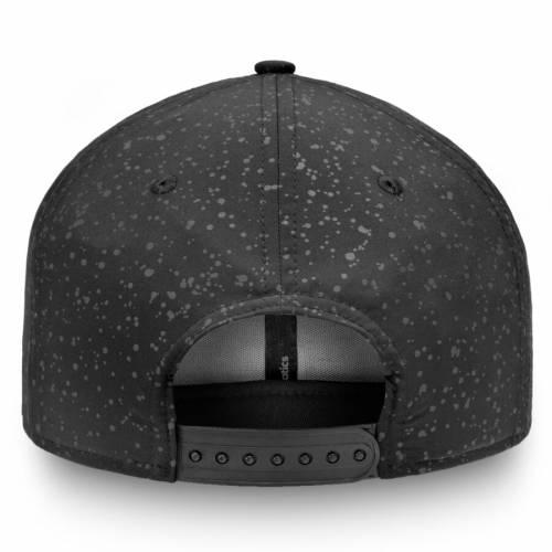 FANATICS BRANDED ピッツバーグ ルーナー ルナー スナップバック バッグ 黒 ブラック キャップ 帽子 メンズキャップ メンズ 【 Pittsburgh Penguins Lunar Snapback Adjustable Hat - Black 】 Black