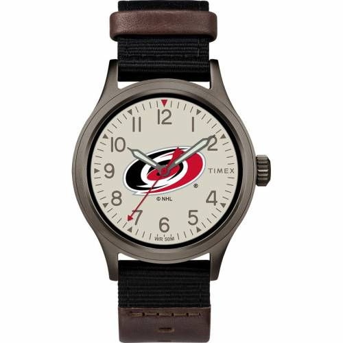 TIMEX タイメックス カロライナ ウォッチ 時計 【 WATCH TIMEX CAROLINA HURRICANES CLUTCH COLOR 】 腕時計 メンズ腕時計