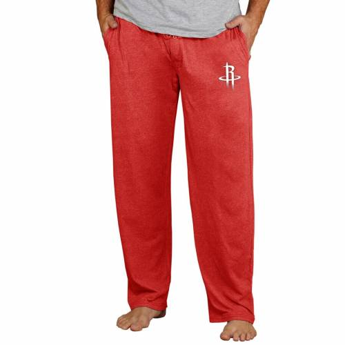 CONCEPTS SPORT ヒューストン ロケッツ ニット 赤 レッド 【 RED CONCEPTS SPORT HOUSTON ROCKETS QUEST KNIT LOUNGE PANTS 】 インナー 下着 ナイトウエア メンズ ナイト ルーム パジャマ