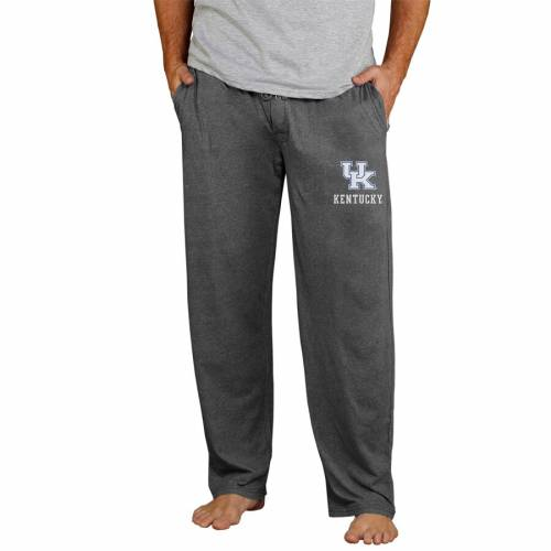 CONCEPTS SPORT ケンタッキー ニット 【 KENTUCKY WILDCATS QUEST KNIT PANTS CHARCOAL 】 インナー 下着 ナイトウエア メンズ ナイト ルーム パジャマ 送料無料