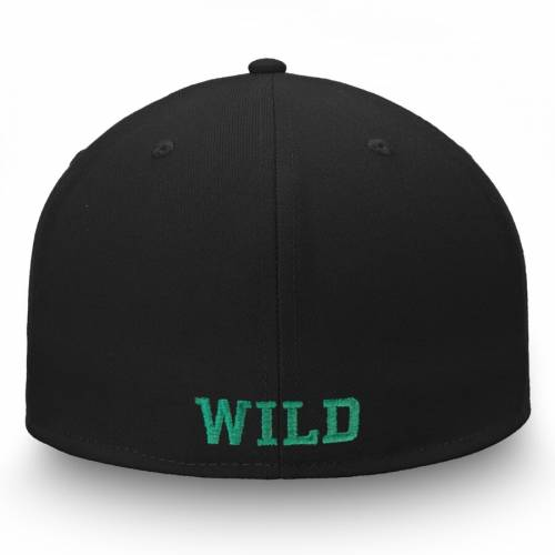 FANATICS BRANDED ミネソタ ワイルド バッグ キャップ 帽子 メンズキャップ メンズ 【 Minnesota Wild Versalux Fitted Hat - Gray/black 】 Gray/black