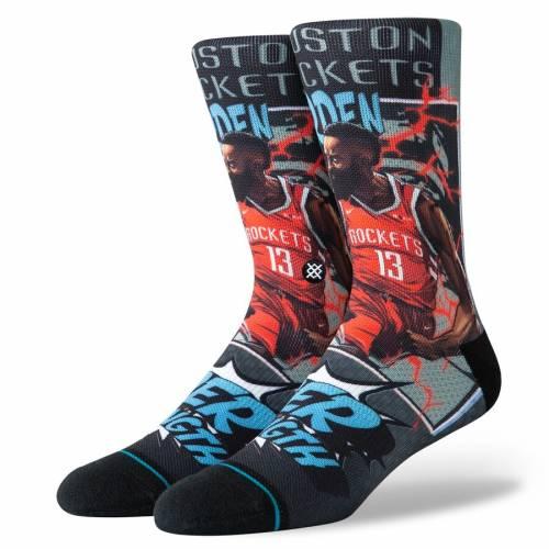 スタンス STANCE ジェームズ ハーデン ヒューストン ロケッツ ソックス 靴下 インナー 下着 ナイトウエア メンズ 下 レッグ 【 James Harden Houston Rockets Playoff Hero Crew Socks 】 Color