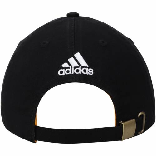 アディダス ADIDAS ピッツバーグ 黒 ブラック バッグ キャップ 帽子 メンズキャップ メンズ 【 Pittsburgh Penguins Dad Ligature Adjustable Hat - Black 】 Black