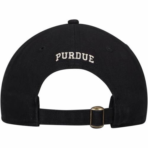 TOP OF THE WORLD 黒 ブラック バッグ キャップ 帽子 メンズキャップ メンズ 【 Purdue Boilermakers Pur District Adjustable Hat - Black 】 Black
