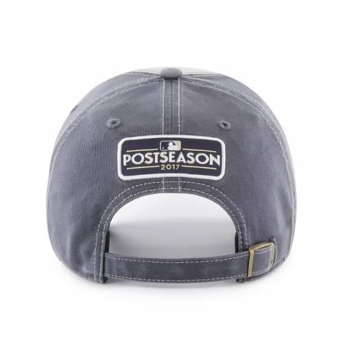 '47 ヒューストン アストロズ 紺 ネイビー バッグ キャップ 帽子 メンズキャップ メンズ 【 Houston Astros 2017 Postseason Grasp Cleanup Locker Room Adjustable Hat - Navy 】 Navy