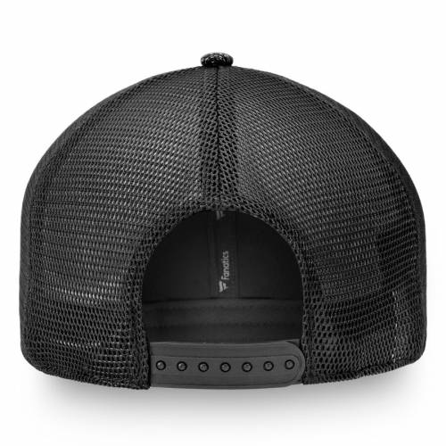 NFL PRO LINE BY FANATICS BRANDED ワシントン レッドスキンズ トラッカー 黒 ブラック バッグ キャップ 帽子 メンズキャップ メンズ 【 Washington Redskins Versalux Trucker Adjustable Hat - Black 】 Black