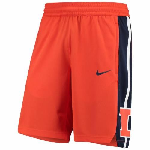 ナイキ NIKE イリノイ チーム バスケットボール ショーツ ハーフパンツ 橙 オレンジ スポーツ アウトドア メンズ ショートパンツ 【 Illinois Fighting Illini Ncaa Replica Team Basketball Shorts - Orange