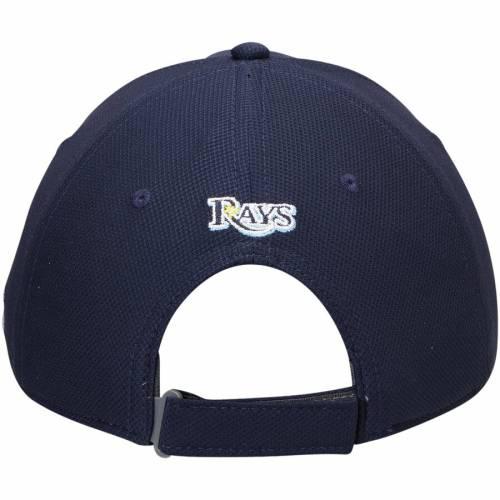 アンダーアーマー UNDER ARMOUR レイズ パフォーマンス 紺 ネイビー バッグ キャップ 帽子 メンズキャップ メンズ 【 Tampa Bay Rays Blitzing Performance Adjustable Hat - Navy 】 Navy