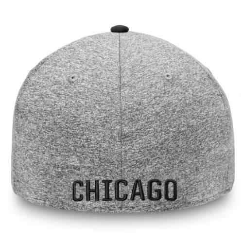 FANATICS BRANDED シカゴ テック 灰色 グレー グレイ バッグ キャップ 帽子 メンズキャップ メンズ 【 Chicago Blackhawks Versalux Marled Tech Flex Hat - Gray 】 Gray