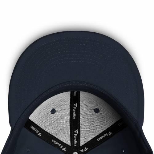 FANATICS BRANDED シティ バッグ キャップ 帽子 メンズキャップ メンズ 【 New York City Fc Versalux Fitted Hat - Gray/navy 】 Gray/navy