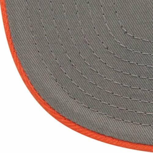 ZEPHYR タイガース スケートボード ストライプ スナップバック バッグ キャップ 帽子 メンズキャップ メンズ 【 Auburn Tigers State Stripe Snapback Adjustable Hat - Navy/orange 】 Navy/orange