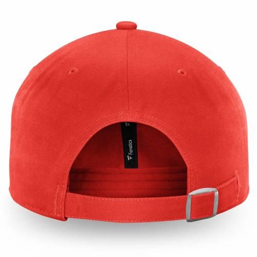 FANATICS BRANDED シカゴ 赤 レッド バッグ キャップ 帽子 メンズキャップ メンズ 【 Chicago Blackhawks Color Hue Fundamental Adjustable Hat - Red 】 Red