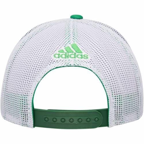 アディダス ADIDAS キングス トラッカー スナップバック バッグ St. キャップ 帽子 メンズキャップ メンズ 【 Los Angeles Kings St. Patricks Day Trucker Adjustable Snapback Hat - Kelly Green/white 】 Kelly Green/w