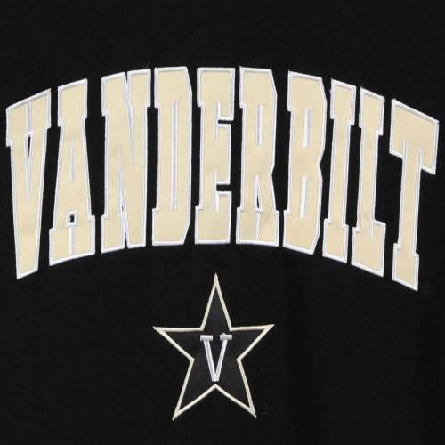 COLOSSEUM ロゴ 黒 ブラック メンズファッション トップス スウェット トレーナー メンズ 【 Vanderbilt Commodores Arch And Logo Crew Neck Sweatshirt - Black 】 Black