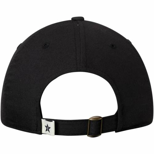TOP OF THE WORLD ロゴ 黒 ブラック バッグ キャップ 帽子 メンズキャップ メンズ 【 Vanderbilt Commodores Primary Logo Staple Adjustable Hat - Black 】 Black