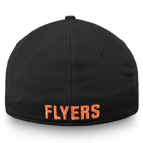 FANATICS BRANDED フィラデルフィア スピード 黒 ブラック バッグ キャップ 帽子 メンズキャップ メンズ 【 Philadelphia Flyers Speed Stretch Fit Hat - Black 】 Black