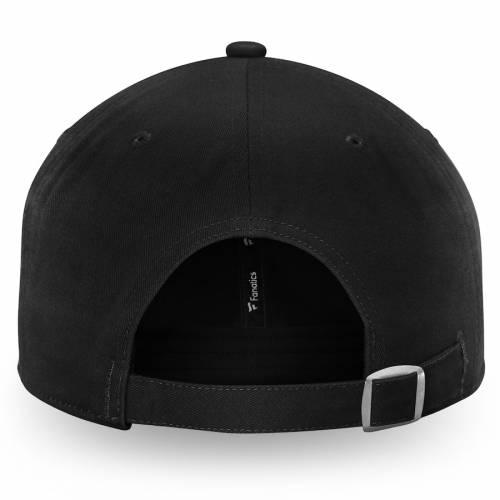 FANATICS BRANDED フィラデルフィア ルーナー ルナー 黒 ブラック バッグ キャップ 帽子 メンズキャップ メンズ 【 Philadelphia Flyers Lunar Slouch Adjustable Hat - Black 】 Black