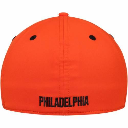 アディダス ADIDAS フィラデルフィア チーム ロゴ バッグ キャップ 帽子 メンズキャップ メンズ 【 Philadelphia Flyers Sport Team Logo Slouch Flex Hat - Black/orange 】 Black/orange