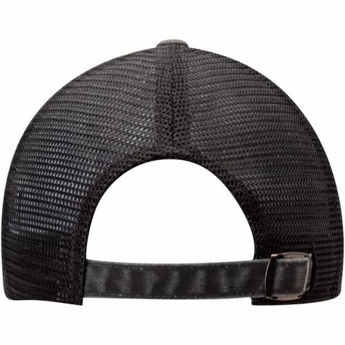 AMERICAN NEEDLE キングス ラグラン トラッカー 黒 ブラック バッグ キャップ 帽子 メンズキャップ メンズ 【 Los Angeles Kings Raglan Bones Trucker Hat - Black 】 Black