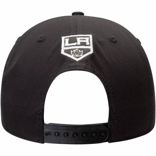 アディダス ADIDAS キングス スナップバック バッグ 黒 ブラック キャップ 帽子 メンズキャップ メンズ 【 Los Angeles Kings Culture Snapback Adjustable Hat - Black 】 Black